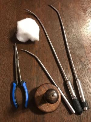 Füll und Polsterwerkzeug
